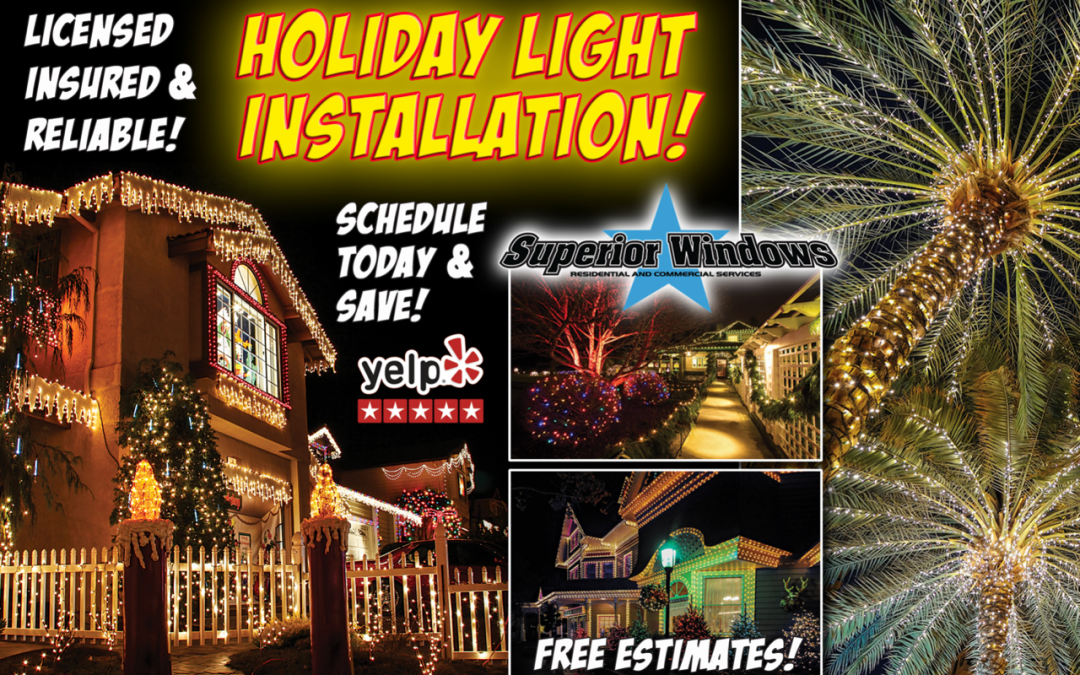 Holiday Light Installation Specials
